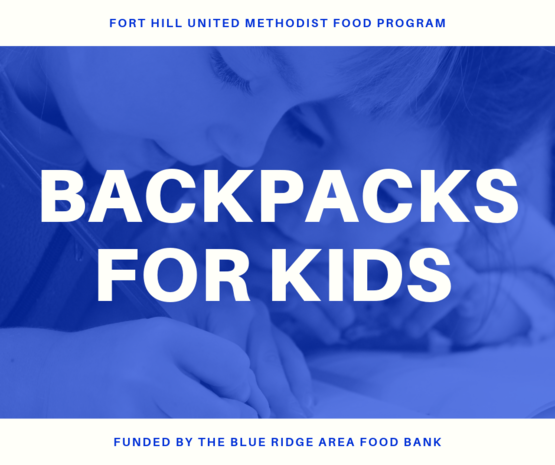 school backpack food program